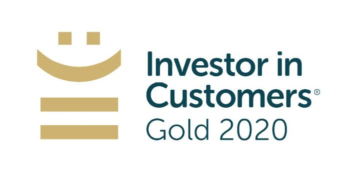 Investor in Customers Gold 2020